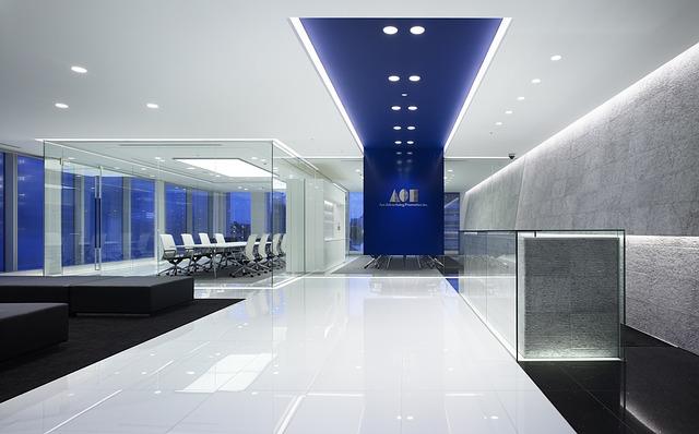 modrý strop